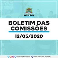 Boletim das Comissões – Saiba quais projetos estão tramitando nas Comissões