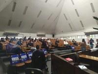 Vereadores recebem construtores para discutir sobre o Plano Diretor